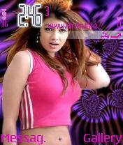 Ayesha Takia in Pink Nice Theme