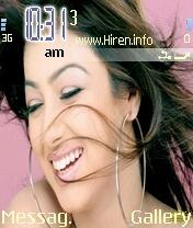 Ayesha Takia Smiling