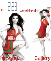 Koena Mitra Red Theme