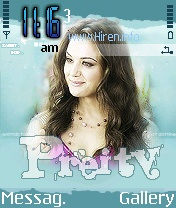 Preity Zinta Excellent S60 Theme