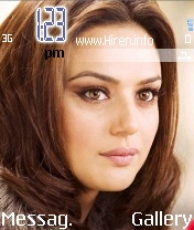 Preity Zinta Full Face Nice Theme