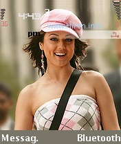 Preity Zinta Series 60 Mobile Theme