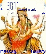 Durga Mataji Mobile Theme