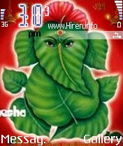 Ganesha Phone Theme