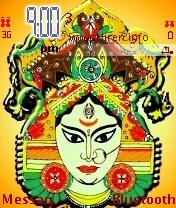 Jai Maa Durga Mobile Theme