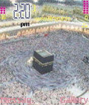 Makkah and Madina Mobile Theme