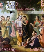 Radhey Krishna Theme