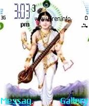 Saraaswati Devi Mobile Theme