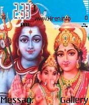 Shiv Parvati Ganesh Theme
