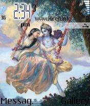 Shri Krishna Radha Theme