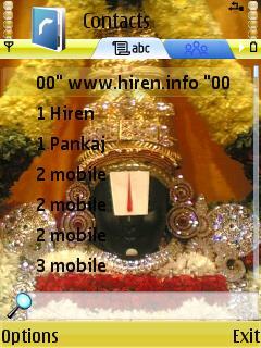 Indian » Mobile Themes » Religious Themes for Nokia S60 3rd » Balaji