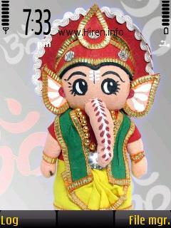 Cute Ganesh Colourful God