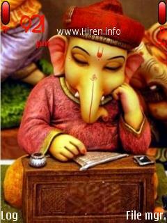 Ganeshji Ganpati Excellent Theme