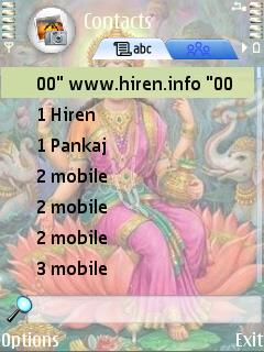 Indian » Mobile Themes » Religious Themes for Nokia S60 3rd