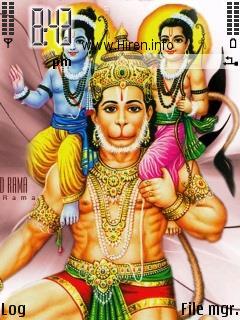 Sri Ram Ji with Laxman Vir Hanuman