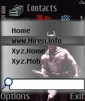 Downloads » Mobile Stuff » Themes for Nokia S60 2nd » Batman