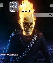 gr ghost rider mobile theme