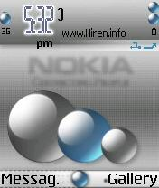 Nokia Smart 3D Balls Gray Cool