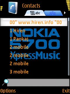 Downloads » Mobile Stuff » Themes for Nokia S60 3rd » 5700