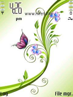 Design Green Flower