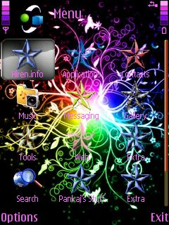 downloads mobile stuff themes for nokia s60 3rd shining
