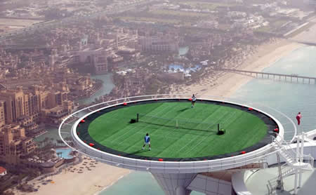 Tennis at the Top of the World