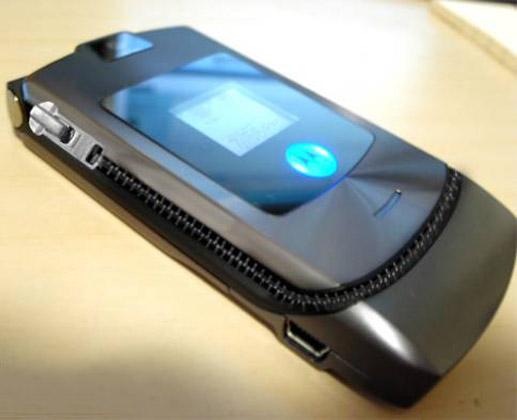 Zipped Mobile Flip