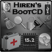 Hiren's BootCD 15 2 - All in one Bootable CD » www hiren info