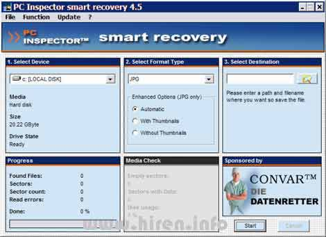 Pc inspector smart recovery free download for windows 10, 7, 8/8. 1.